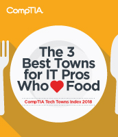 Tech Towns for Foodies